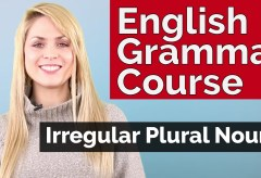 English Grammar Course | Irregular Plural Nouns