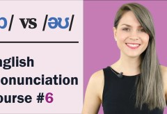 /ɒ/ vs /əʊ/ | Learn English Pronunciation Course | Minimal Pairs Practice