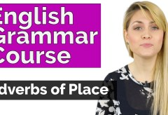 Adverbs of Place – English Grammar Course