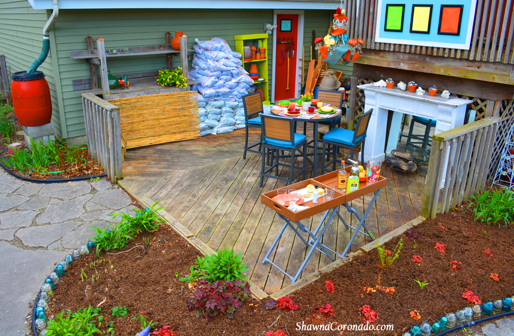 Backyard Makeover Garden Potting Room Before and After on Backyard Patio Makeover id=16461