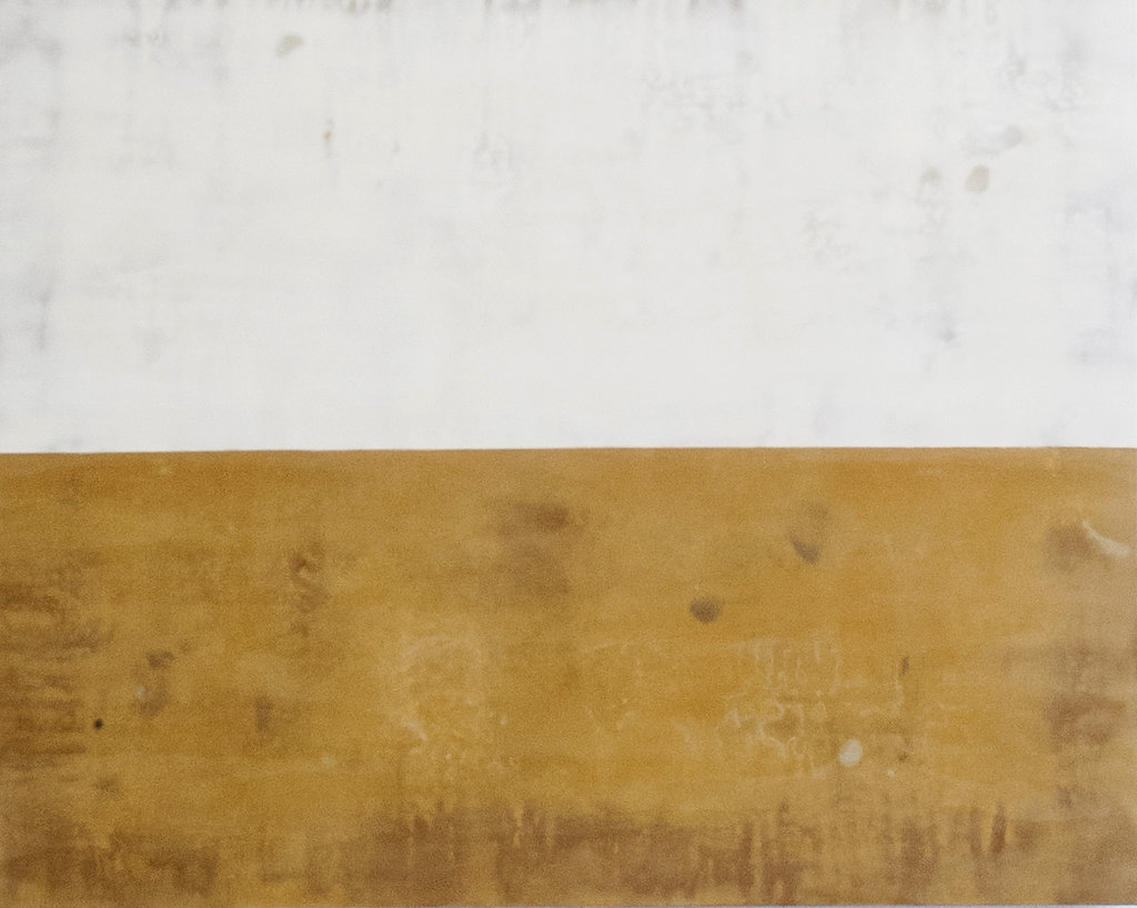 Pranava - 40 x 50 inches Encaustic on wood panel