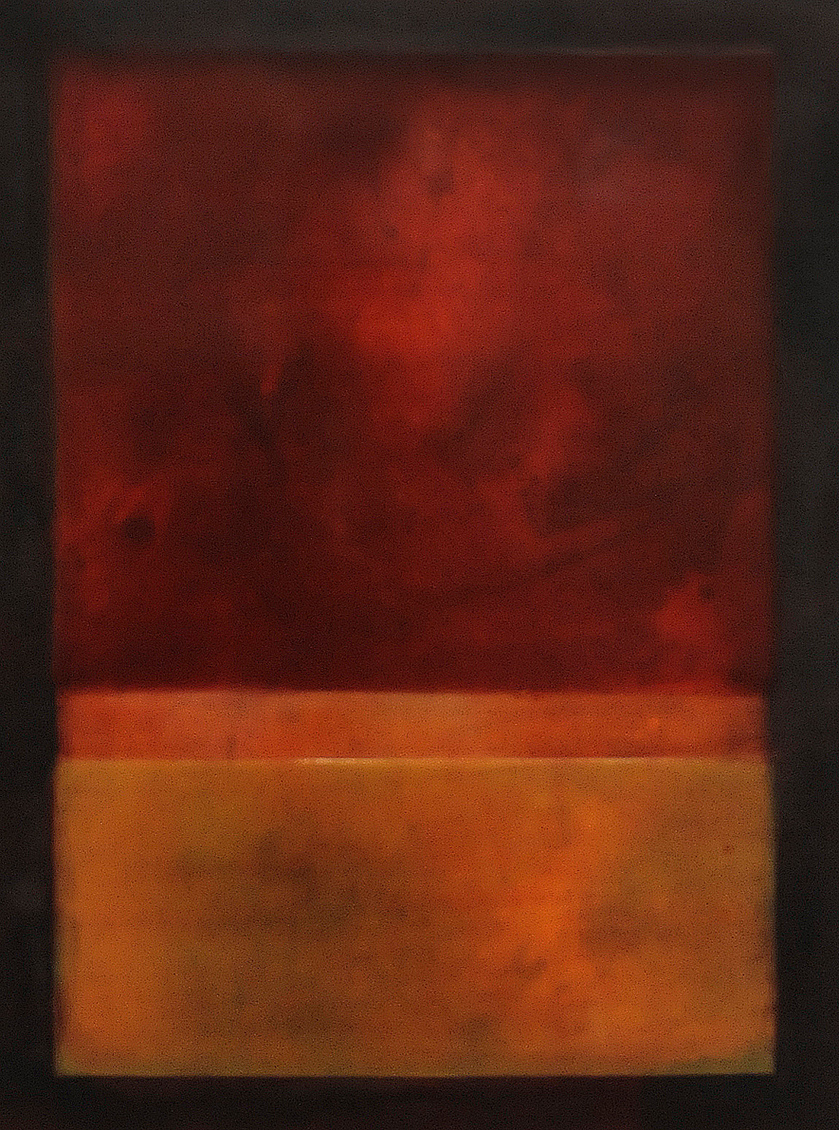 Juice 24 x 18 inches encaustic on panel - Shawna Moore
