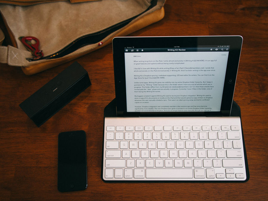 Canopy Keyboard Cover and iPad Stand Review - MacStories | 674x900