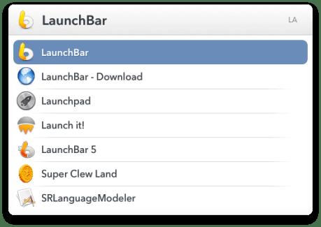 LaunchBar version 6