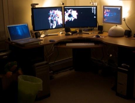 Jeff Nouwen's desk