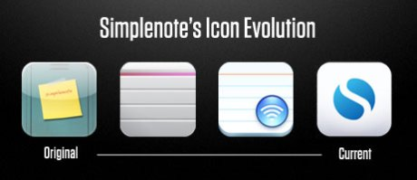The Simplenote Icon Evolution