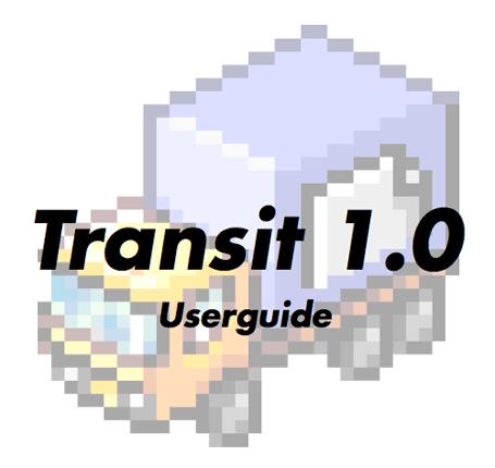 Transit 1.0 Userguide