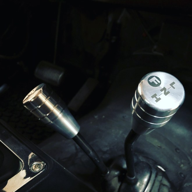 Custom Shift knobs for Dana 300 Twin Stick Transfer Case