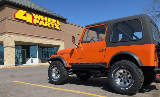 Jeep CJ-7 33x12.50x15 BFG All Terrain TKO2s with Pro-Comp wheels