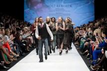 Shawn Byfield performs at Toronto Fashion Week