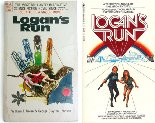 Logan's Run book covers