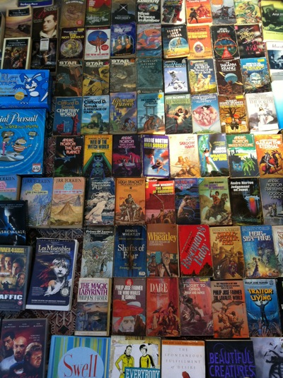 Used science fiction books on Commercial Drive