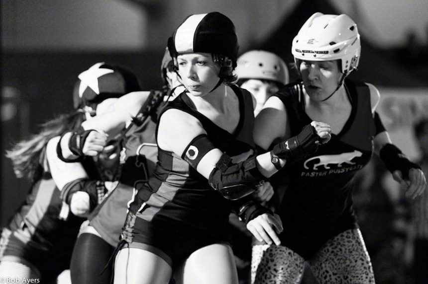 Terminal City Rollergirls' Faster Pussycats. Bob Ayers photo