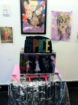 Spice Girls diorama at the Fall Gallery Vancouver photo