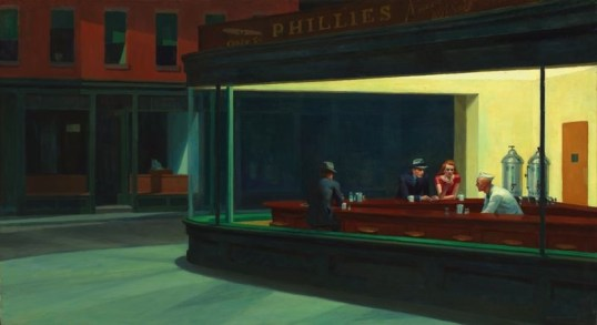 Nighthawks Edward Hopper painting