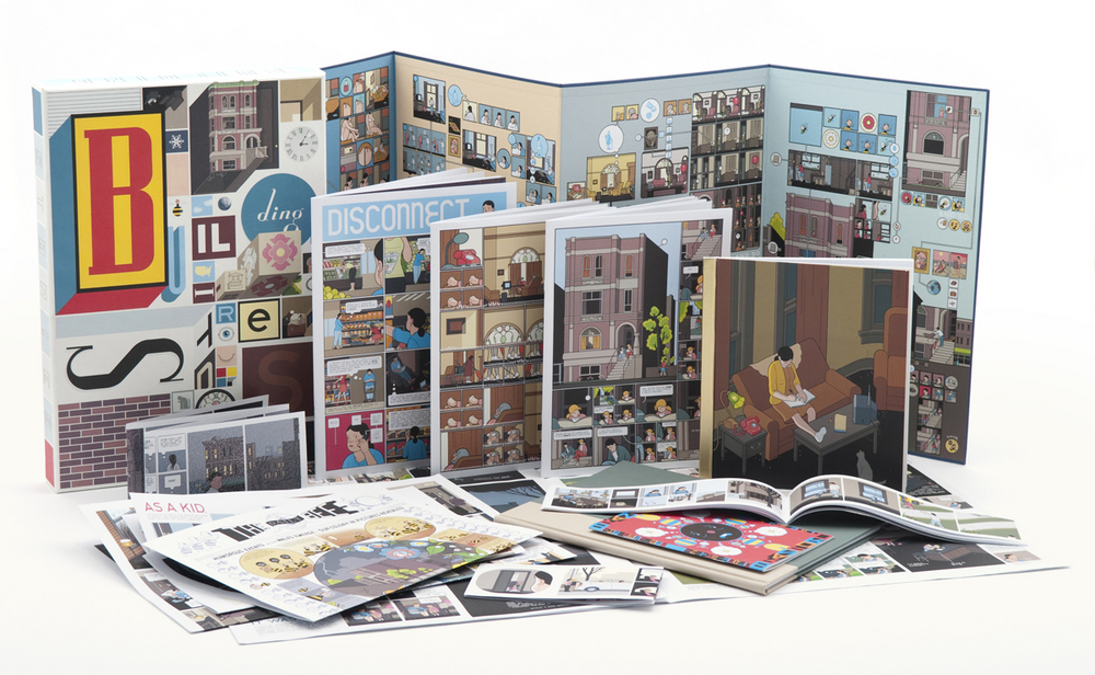 Building Stories cartoonist Chris Ware interview