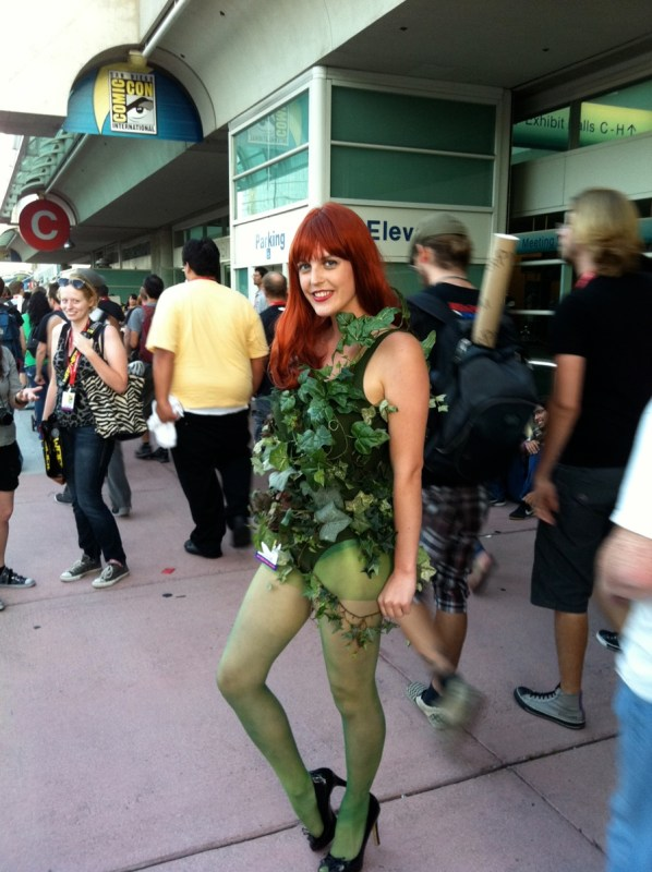 Poison Ivy cosplayer at the 2011 San Diego Comic-Con