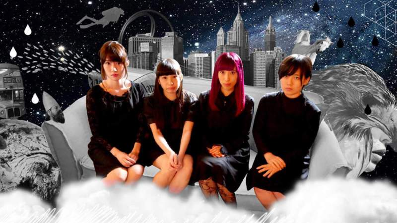 Koutei Camera Girl publicity image. Next Music from Tokyo Vol 11.