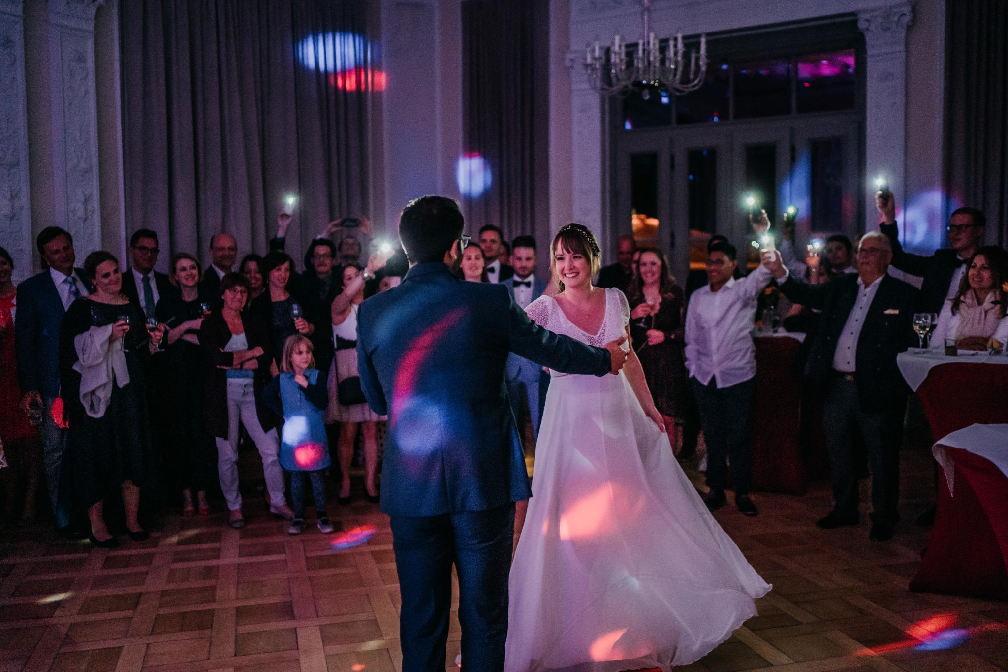 Hochzeit auf Schloss Heiligenberg First Dance