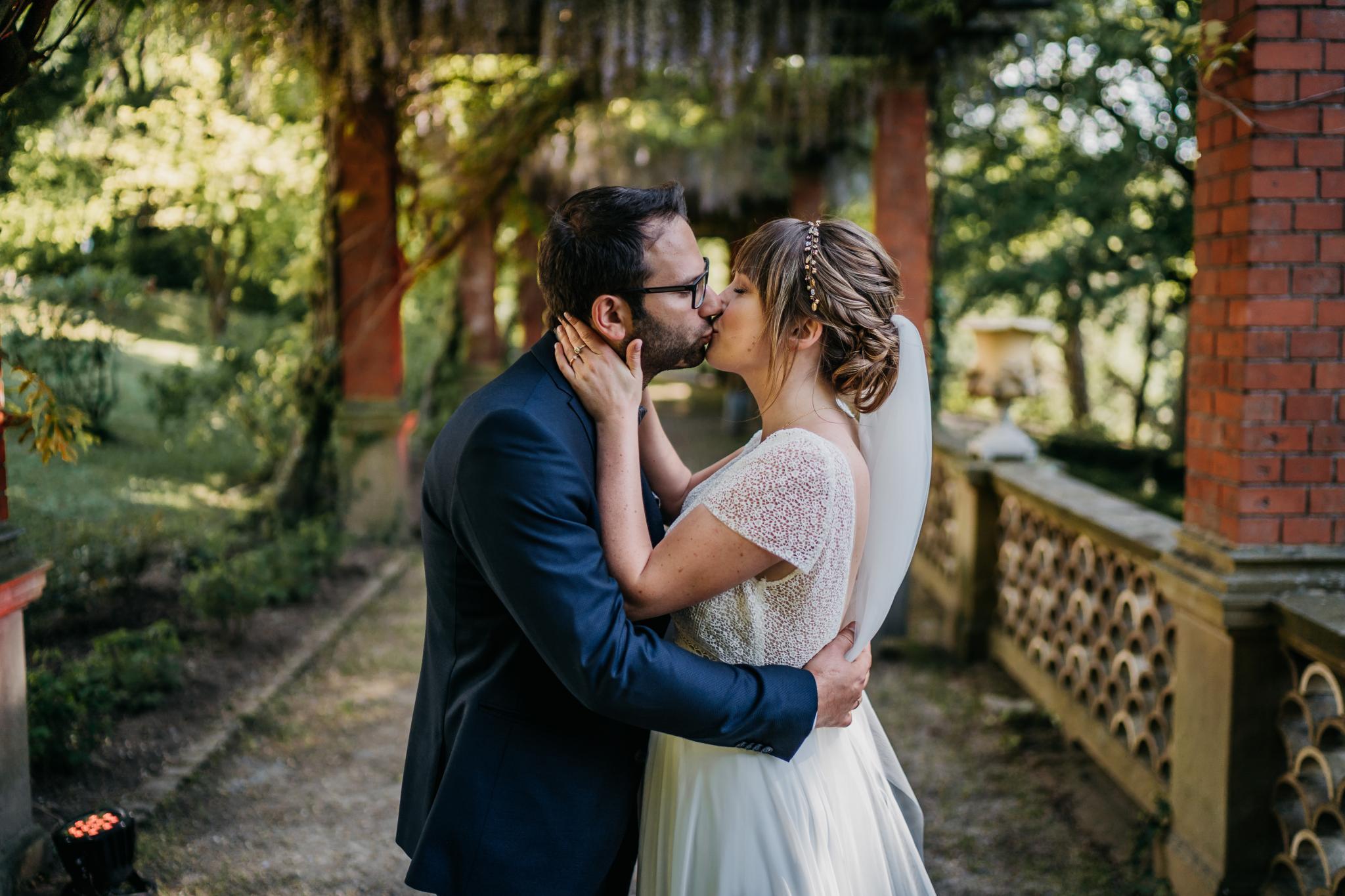 Hochzeit auf Schloss Heiligenberg Brautpaarshooting