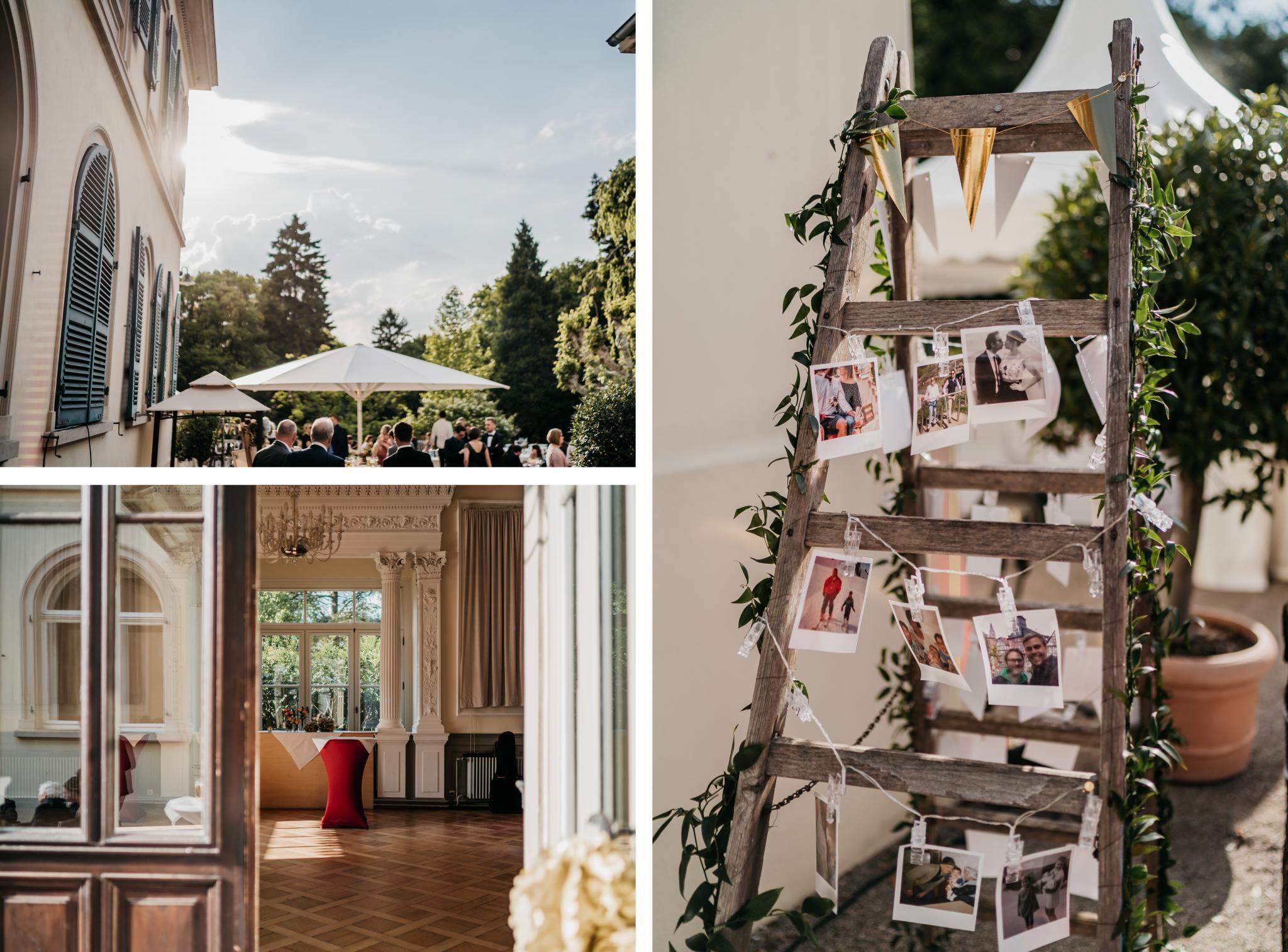 Hochzeit auf Schloss Heiligenberg Deko