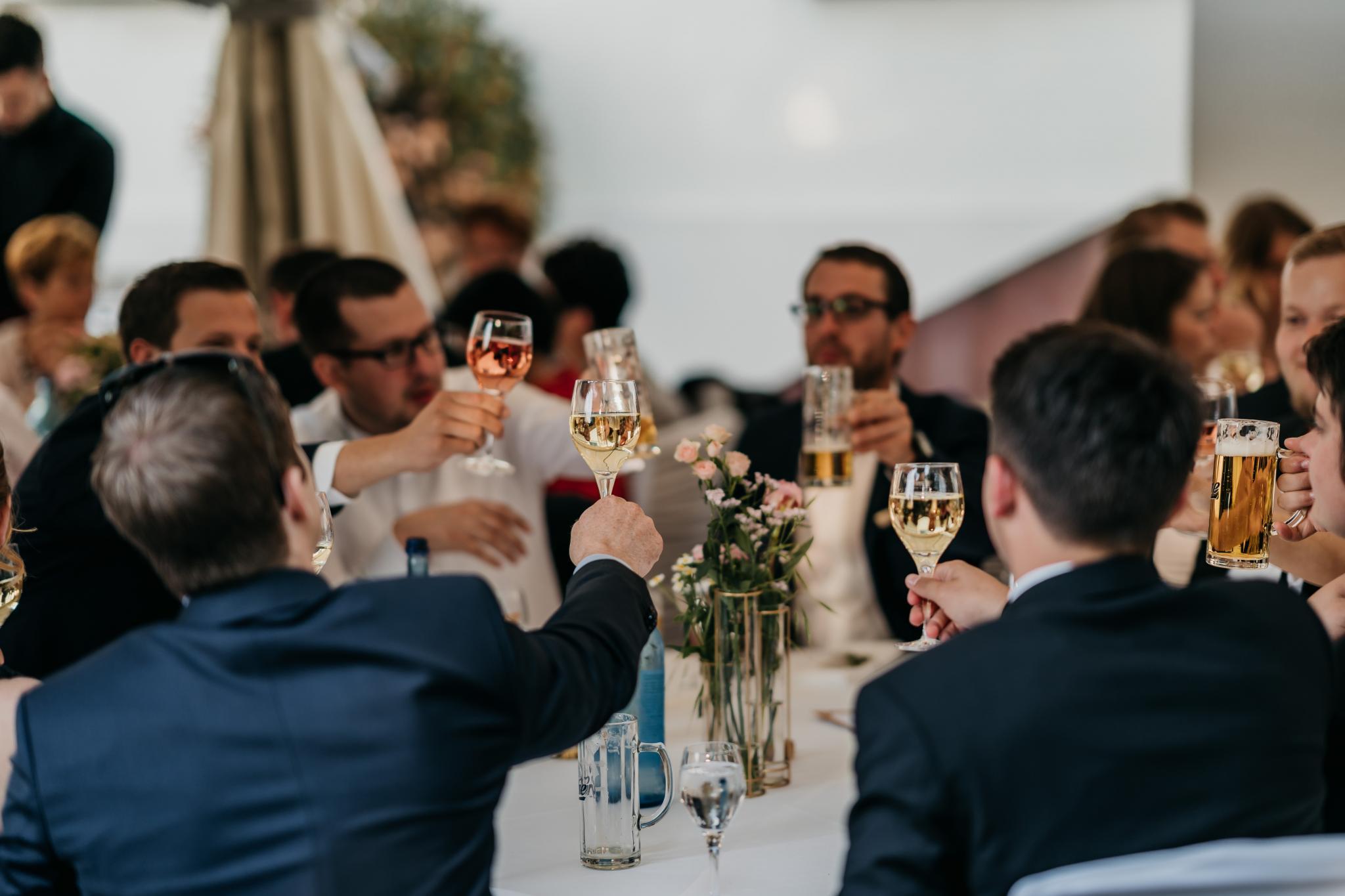 Hochzeit auf Schloss Heiligenberg gemeinsame Momente