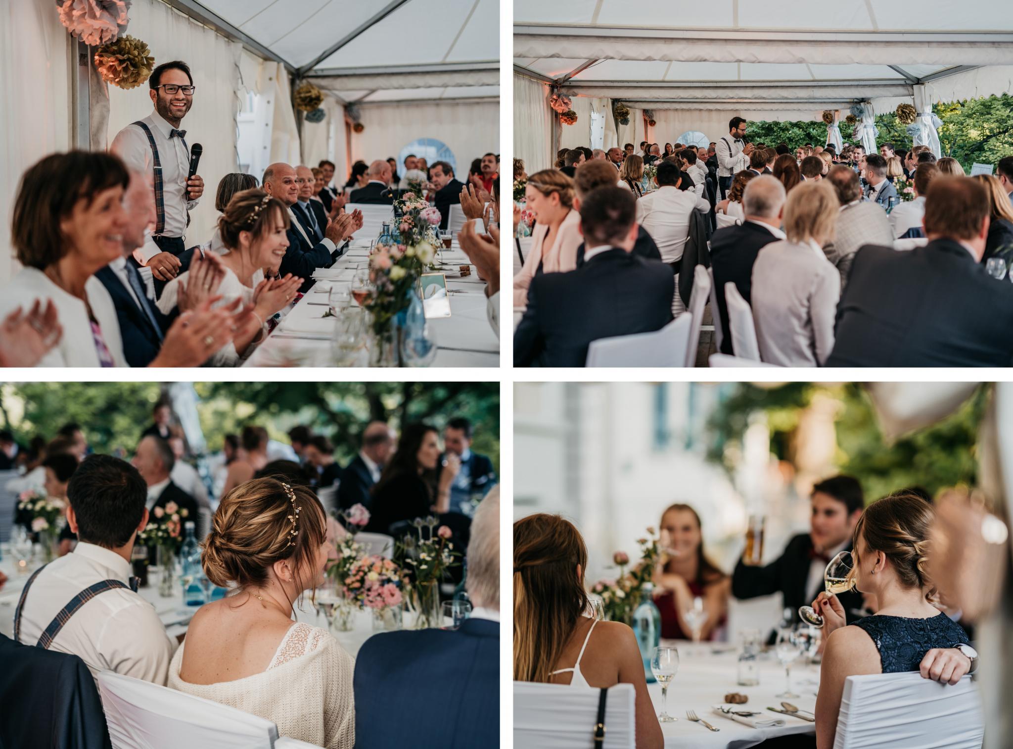 Hochzeit auf Schloss Heiligenberg Hochzeitsfeier