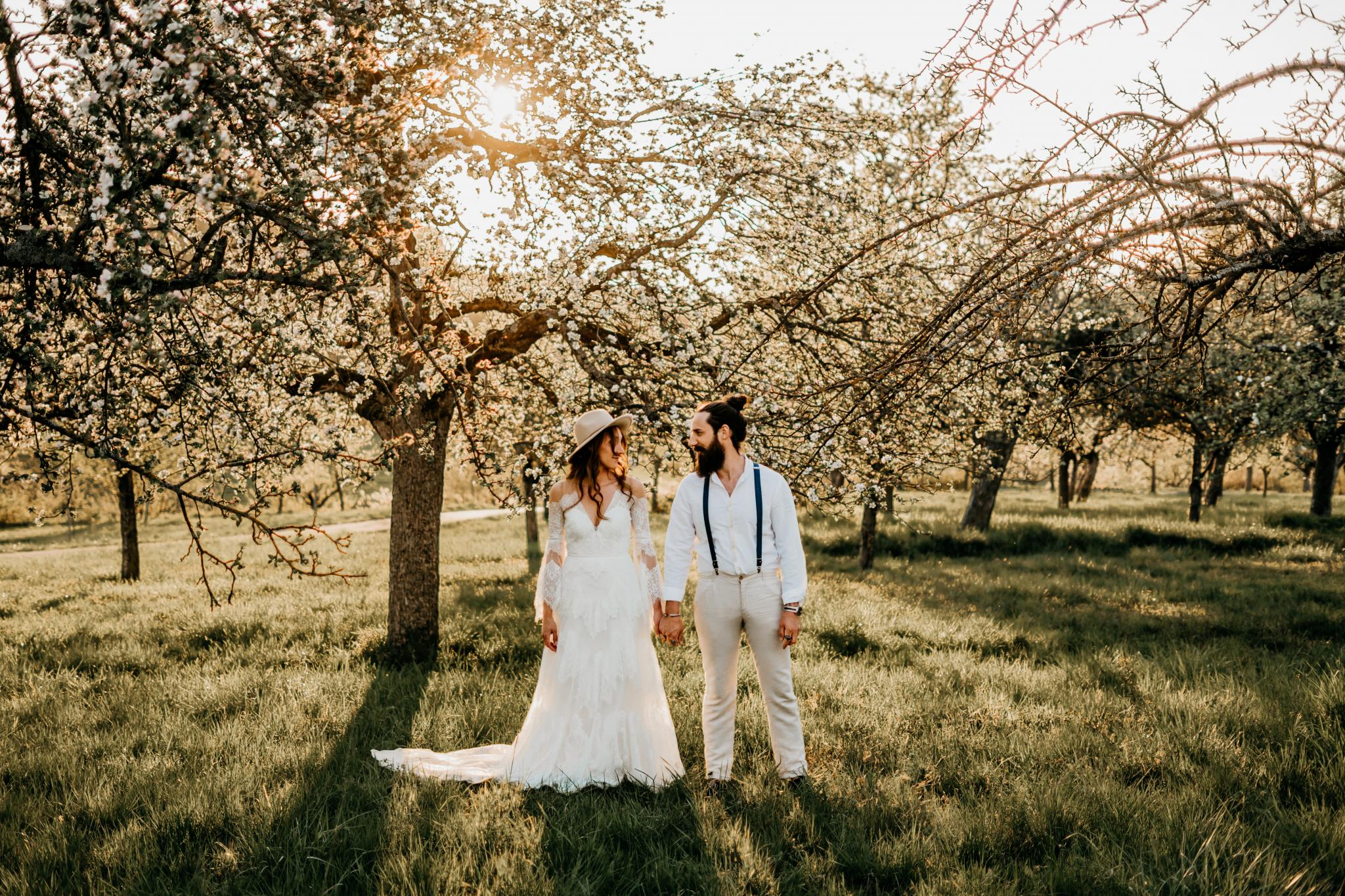 Spring Wedding Inspiration Boho
