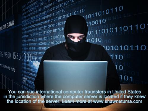 Jurisdiction for Computer Fraud