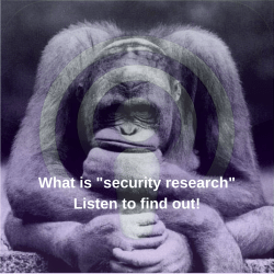 """What is """"security research""""?"""