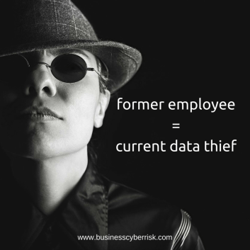 former employee = current data thief