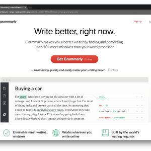 Grammerly Content Writing Tool