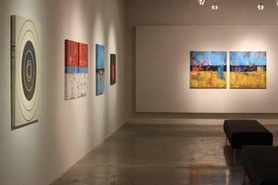 gallery exhibition contemporary modern art