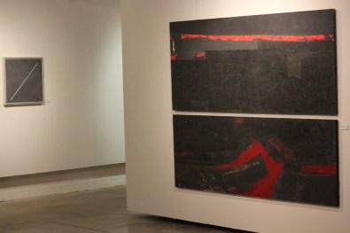 large black modern art costello