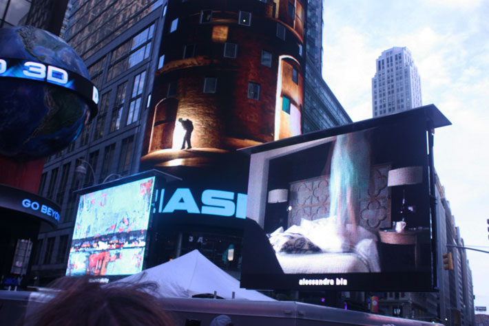 art takes times square artists wanted