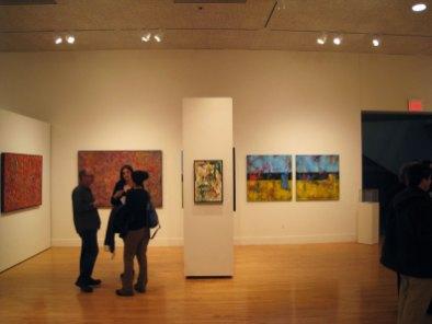 silvana lacreta ravena encaustic paintings exhibit people