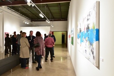 People At Art Gallery Show Twin Cities