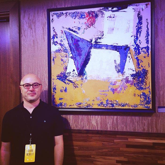 Shawn McNulty US Bank Stadium Art