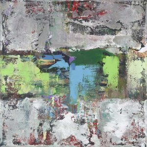 Jettison Gray Modern Painting Meaning