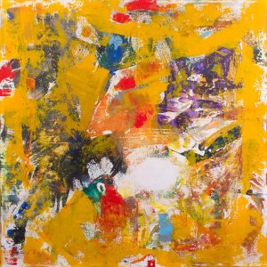 Shrimp Creole Recipe Abstract Painting