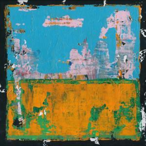 Gordon Modernist Abstract Art Painting