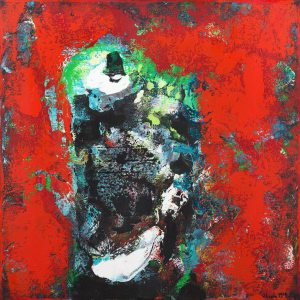 Hottest Pepper World Abstract Painting