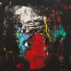 Monarch King Queen Regal Abstract Painting