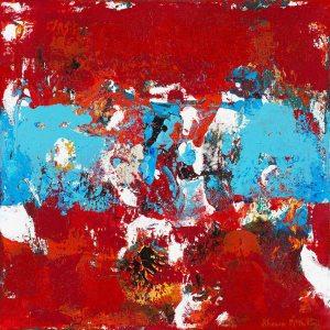 Saxophone Jazz Abstract Art Painting Basquiat