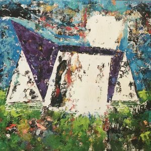 Stadium 2 Minnesota Vikings Art Collection Painting