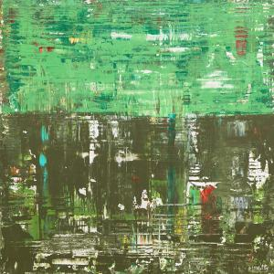 Ireland Galway Bay Girl Abstract Painting