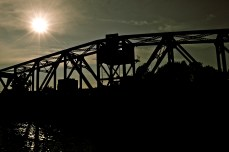 Sun Over Bridge