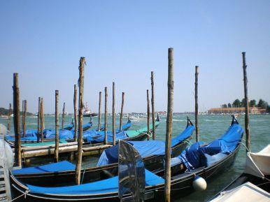 Cruises from Venice - Gondolas in Venice