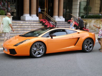 Expensive Cars in front of Monte Carlo