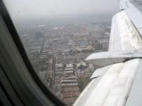Landing in Taiyuan